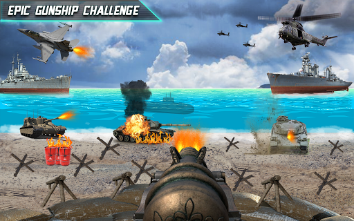 Call of Beach Defense: FPS Free Fun 3D Games apktram screenshots 9