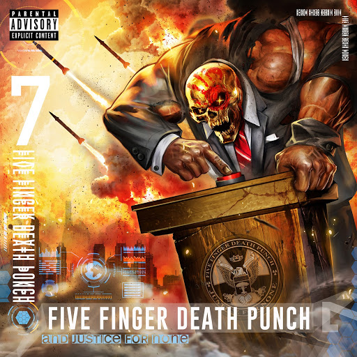 Five Finger Death Punch: And Justice for None - Music on