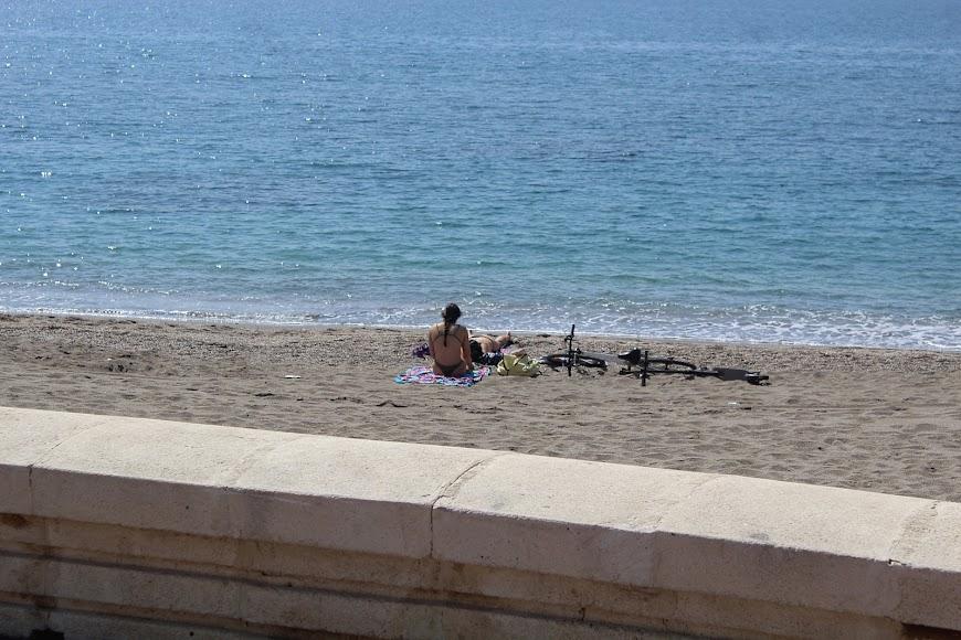 Playa de la Térmica.