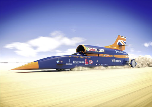 The troubled Bloodhound project requires a R472m injection to get back on track. Picture: SUPPLED