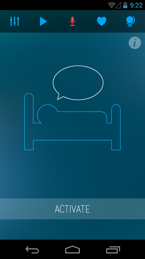 Sleep Talk Recorder- screenshot