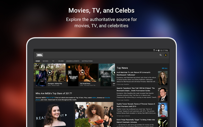 Screenshot 7 for IMDb's Android app'