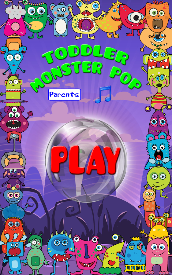 Toddler Monster Pop- screenshot