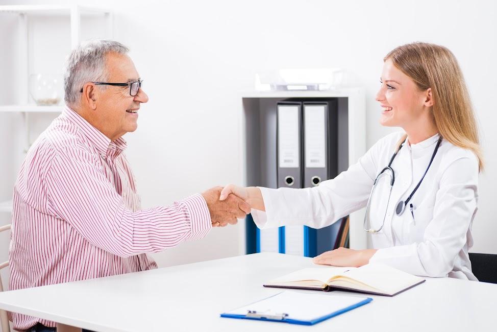 Könnyedés az orvosok prosztatájával