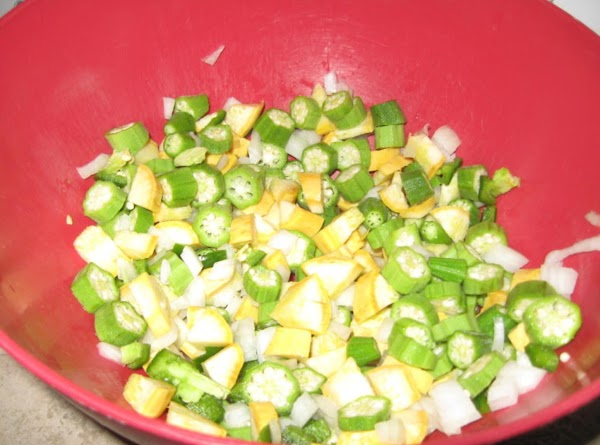 Be sure to use the freshest ingredients. Add each chopped vegetable ingredient into bowl...