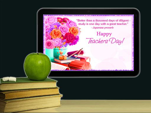 Teacher's Day Wallpaper eCards