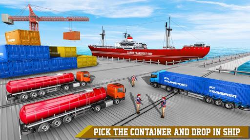 Transport Ship Euro Truck Cargo Transport Games modavailable screenshots 4