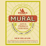 New Belgium Mural Agua Fresca Cerveza