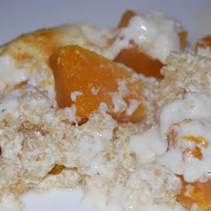 Quinoa and Butternut Gratin
