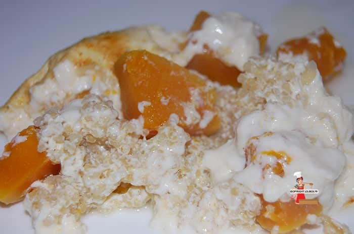 Quinoa and Butternut Gratin Recipe