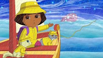 Au Clair de la lune, mon amie Dora