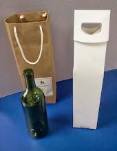 Photo: Caixa Especial para garrafa com alça + Sacola - Foto 2