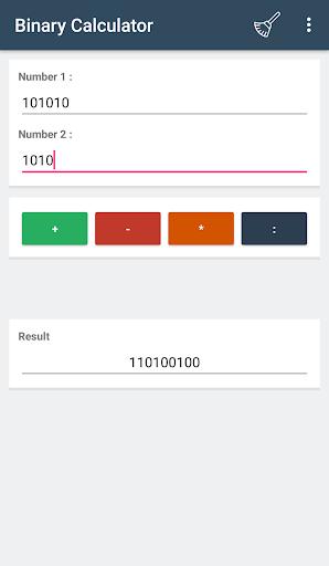Screenshot 4 Binary Calculator