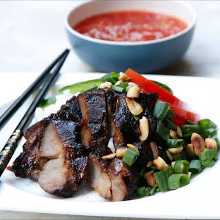 Pork with Nuoc Cham.