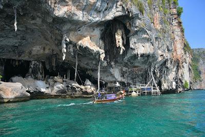 Make a short stop at Viking Cave