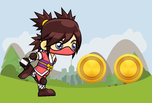 Ninja Girl Run