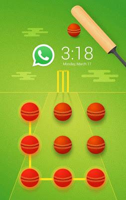 Cricket CM Security Theme - screenshot