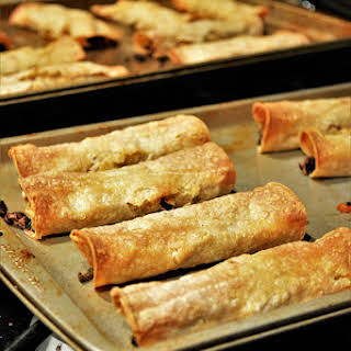 Black Rice & Vegetable Taquitos.