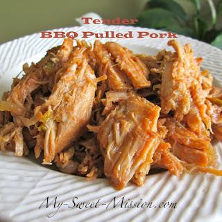 Tender BBQ Pulled Pork