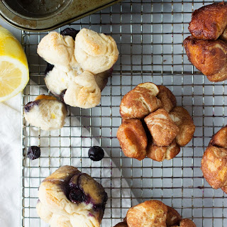 Mini Monkey Breads, 3 Ways