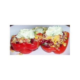 Quick and Easy Mexican Stuffed Peppers