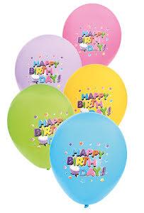 Ballonger, Happy Birthday 6 st