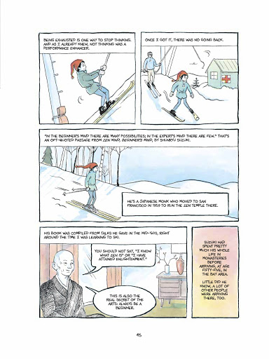 Excerpt of Alison Bechdel's The Secret to Superhuman Strength