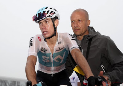 Le coureur de l'équipe Sky David Lopez a décidé de mettre un point final à sa carrière