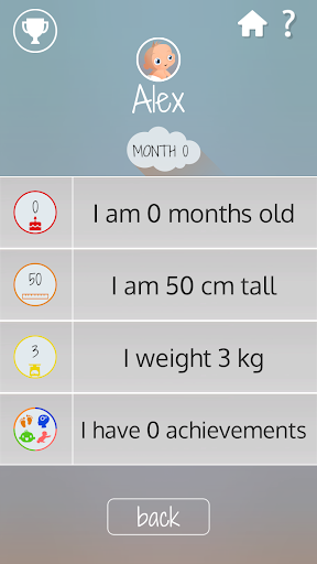 Baby Development Steps Screenshot