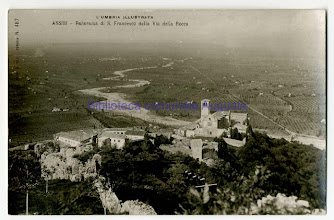 Photo: Assisi, Panorama di S.Francesco dalla via della Rocca