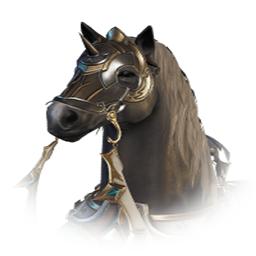 騎士団の軍馬
