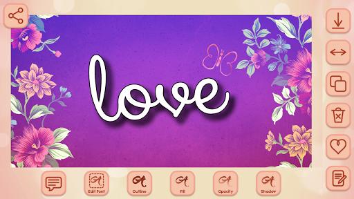 Name Art on Photo Love Calligraphy 1.5 screenshots 2