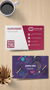 Digital Business Card Maker - Visiting Cards