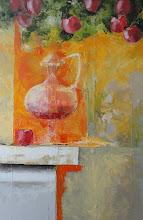 Photo: Андрей Цуп, «Яблуневий натюрморт», холст, масло, 70х90см
