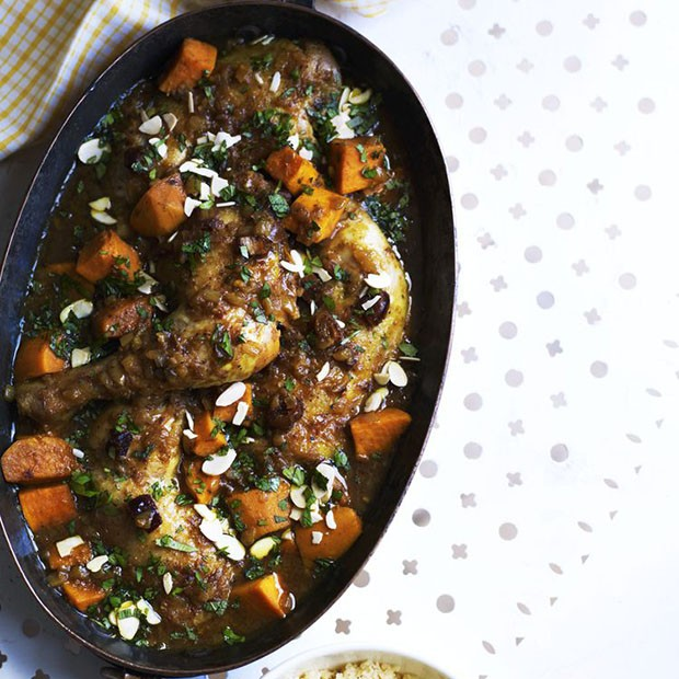 Chicken Tagine With Honey And Dates