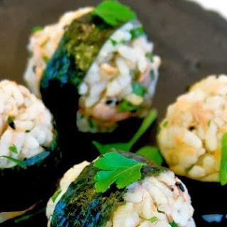 Salmon Onigiri (Japanese Rice Balls)