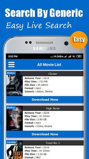 Mp4 movie downloader app | MP4 Movie Downloader:DL Videos