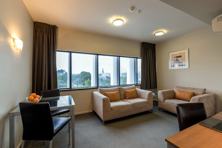 living space at Quest Palmerston North