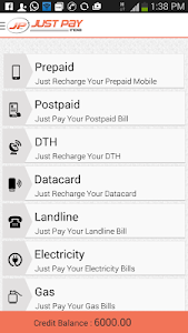 Online Recharge and Bill Pay screenshot 2