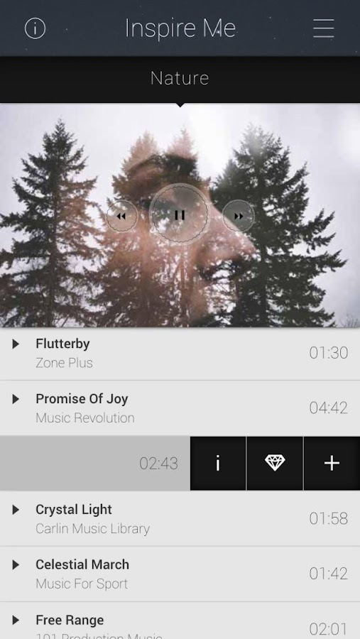 InspireMe All Music Publishing- screenshot