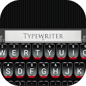 Red Typewriter Theme&Emoji Keyboard Android APK Download Free By Best Keyboard Theme Design
