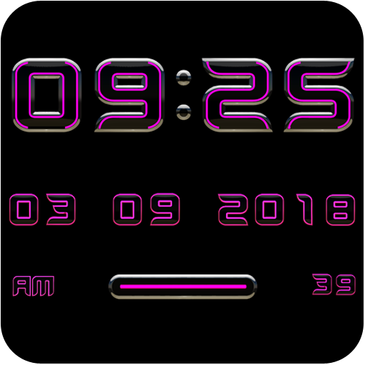 XEEX Digital Clock Widget