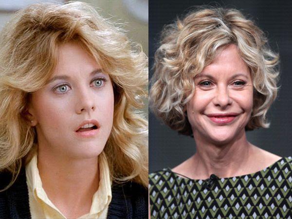 El antes y el después de Meg Ryan y su nueva horrible cara