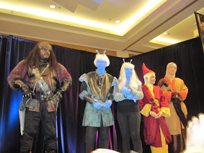 Photo: Mitchell (Klingon), Andorians & Bajorans