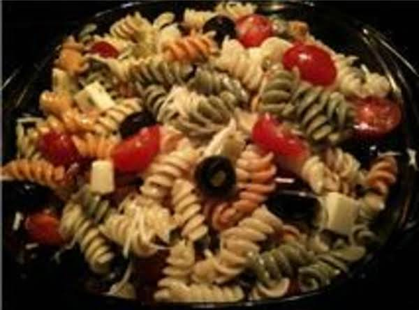 Pasta Salad With A Zing! Recipe