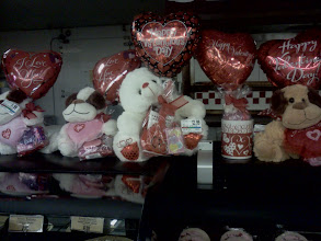 Photo: Some great Valentines gifts, I really like stuffed animals.