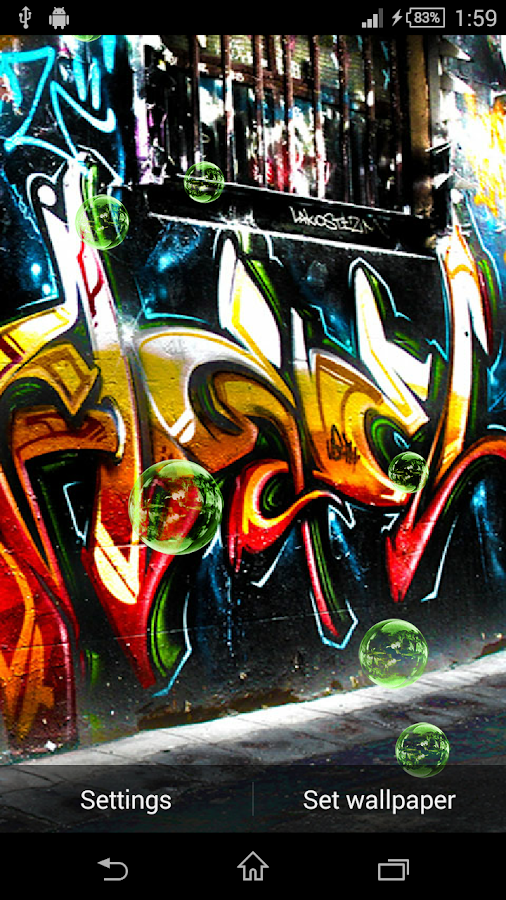 Graffiti Live Wallpaper Android Apps On Google Play