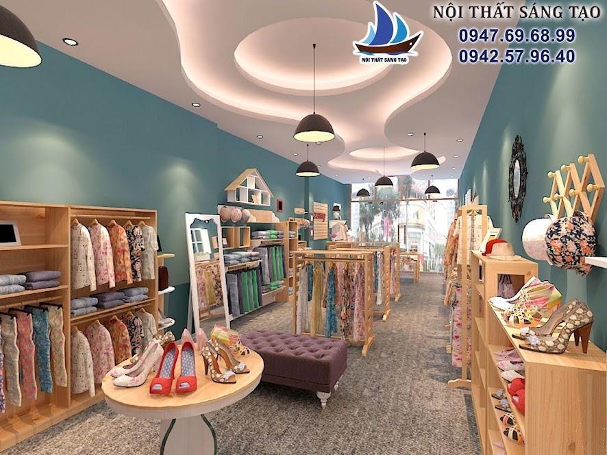 thiết kế shop thời trang hiện đại 24