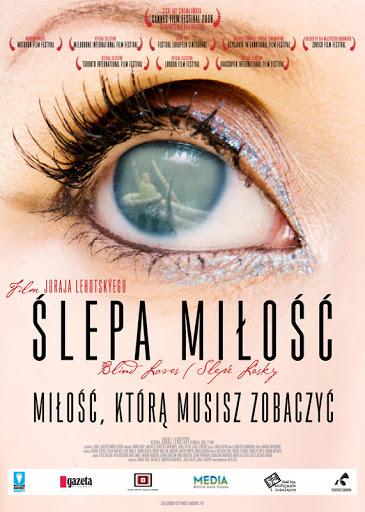 Polski plakat filmu 'Ślepa Miłość'