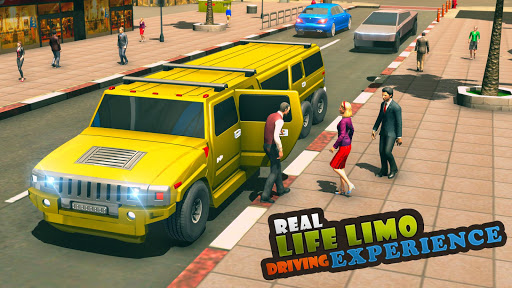 Big City Limo Car Driving Simulator : Taxi Driving 3.8 screenshots 9